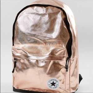 NWT Converse rose gold backpack